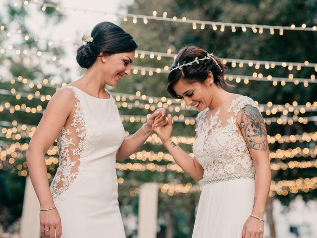La boda de Laura y Erika en La Cañada De Calatrava, Ciudad Real 118