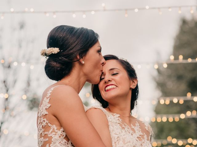 La boda de Laura y Erika en La Cañada De Calatrava, Ciudad Real 121