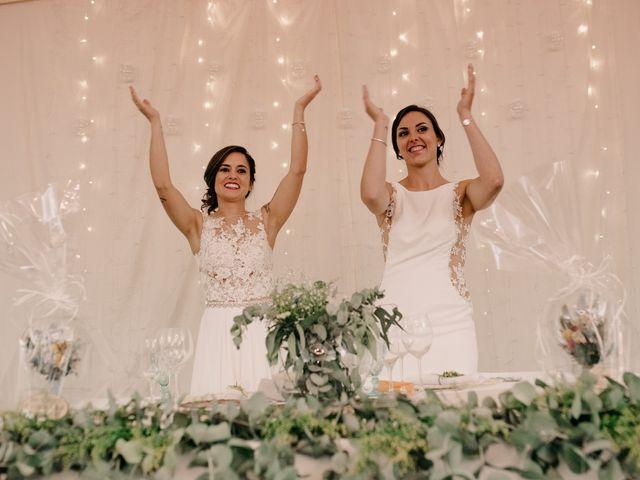 La boda de Laura y Erika en La Cañada De Calatrava, Ciudad Real 143
