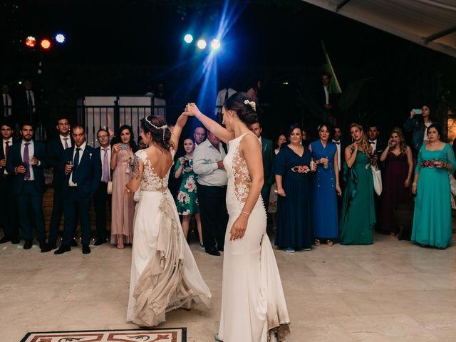La boda de Laura y Erika en La Cañada De Calatrava, Ciudad Real 186