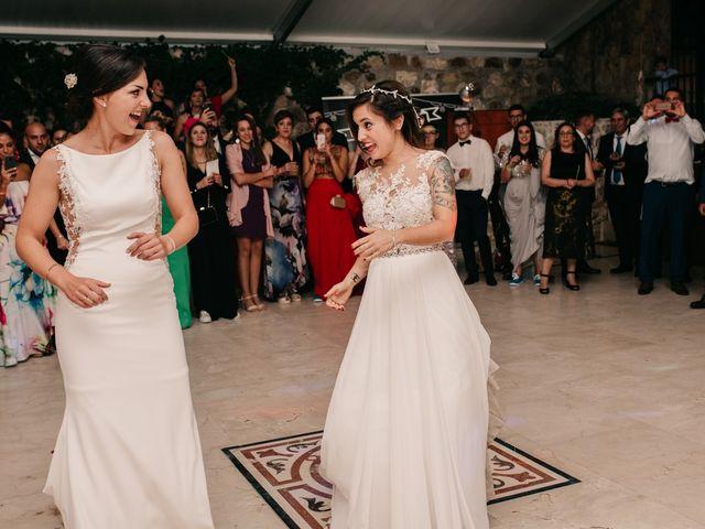 La boda de Laura y Erika en La Cañada De Calatrava, Ciudad Real 189