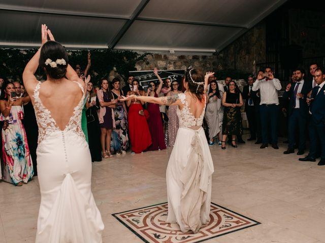 La boda de Laura y Erika en La Cañada De Calatrava, Ciudad Real 190