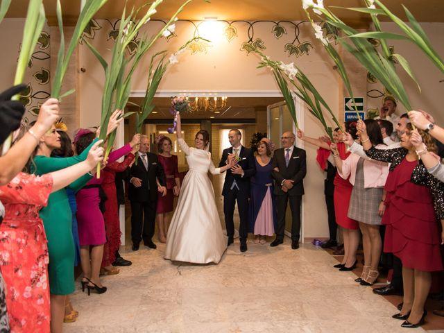 La boda de Javi y Carmen en San Clemente, Cuenca 22