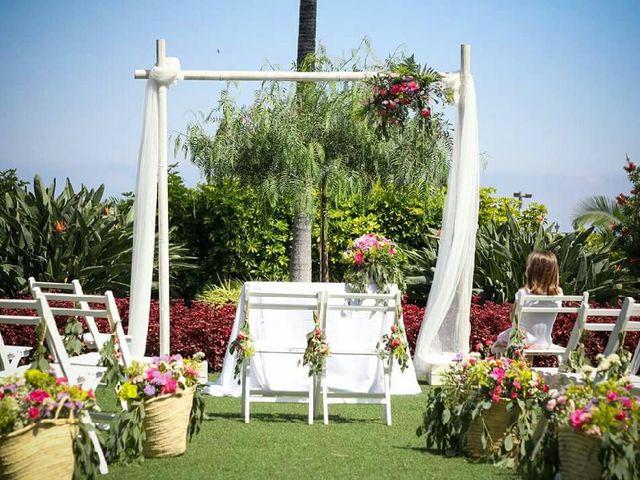 La boda de Samuel  y Esther  en La Orotava, Santa Cruz de Tenerife 5