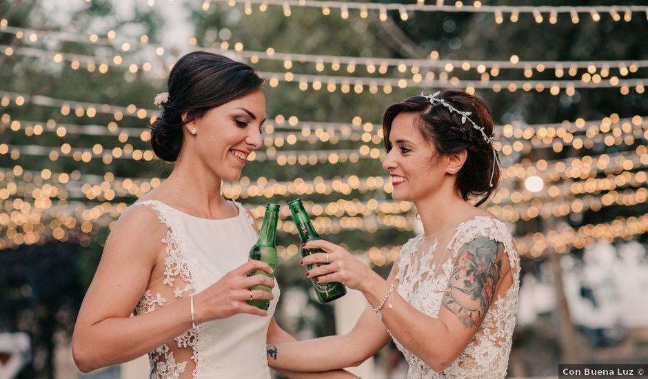 La boda de Laura y Erika en La Cañada De Calatrava, Ciudad Real