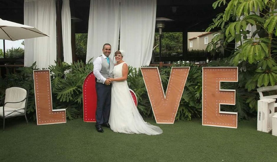 La boda de Samuel  y Esther  en La Orotava, Santa Cruz de Tenerife