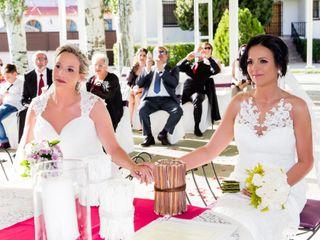 La boda de Cristina y Loli