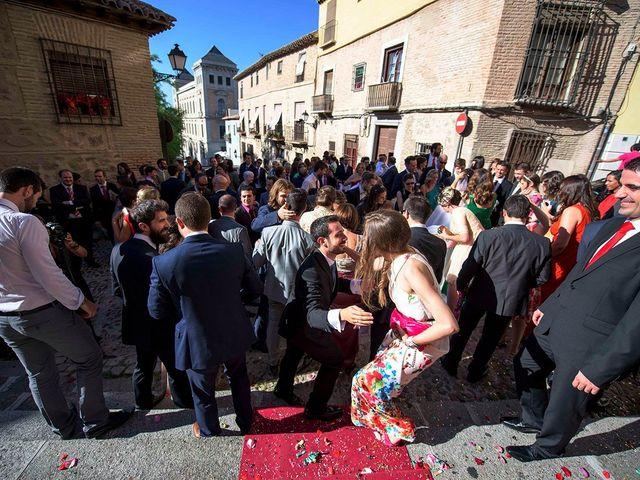 La boda de Alejandro y María en Toledo, Toledo 34