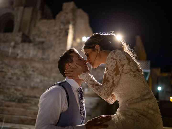 La boda de Rebeca y Zilvinas