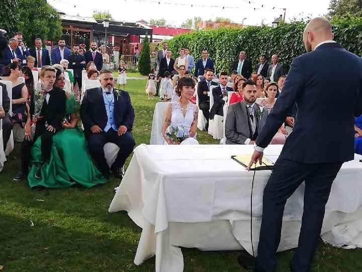 La boda de Lorena y Héctor