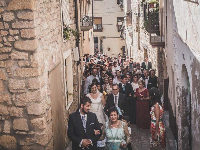 La boda de Eduardo y Vanesa en Caspe, Zaragoza 35