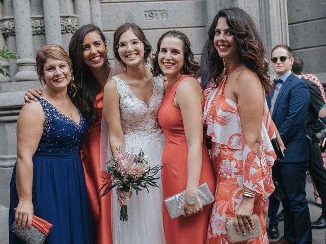 La boda de Adrían y Silvia en Arucas, Las Palmas 54