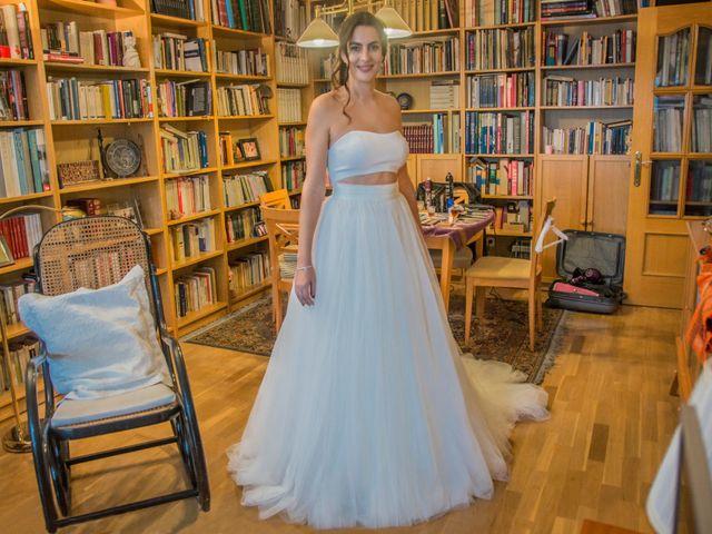 La boda de Oscar y Clara en Madrid, Madrid 1
