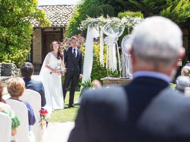 La boda de Arrate y Ibai en Elorriaga, Álava 39