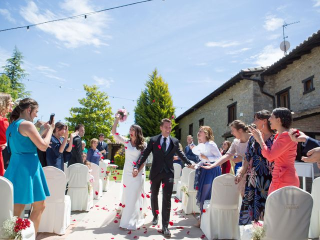 La boda de Arrate y Ibai en Elorriaga, Álava 43