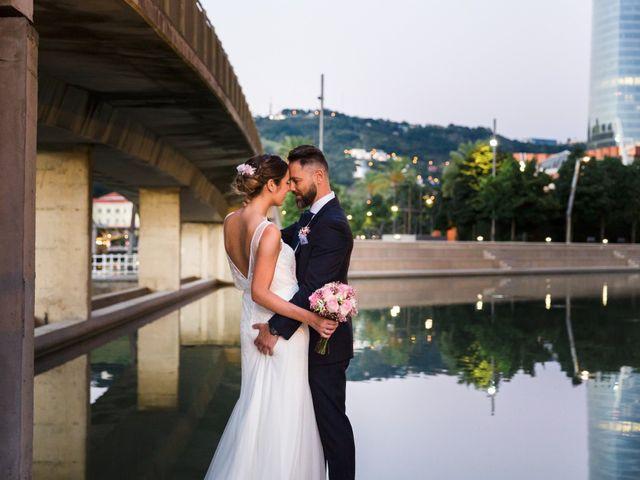 La boda de Oscar y Maite en Bilbao, Vizcaya 43
