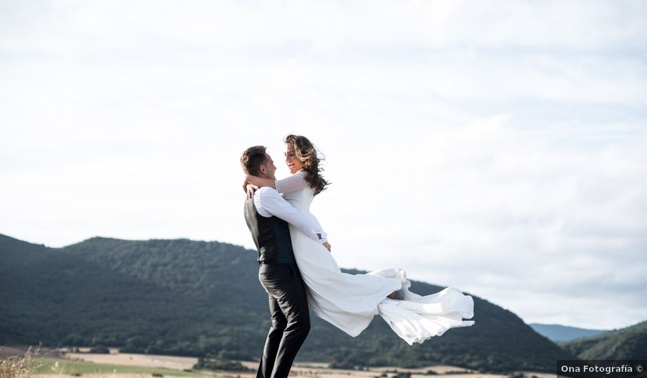 La boda de Arrate y Ibai en Elorriaga, Álava