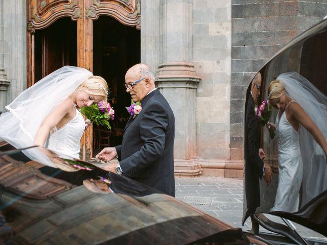 La boda de Juan y Marta en La Orotava, Santa Cruz de Tenerife 1