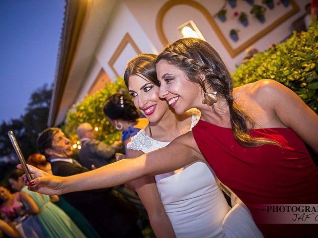 La boda de Luis y Marta  en Castellar De La Frontera, Cádiz 1