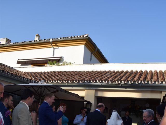 La boda de Luis y Marta  en Castellar De La Frontera, Cádiz 11