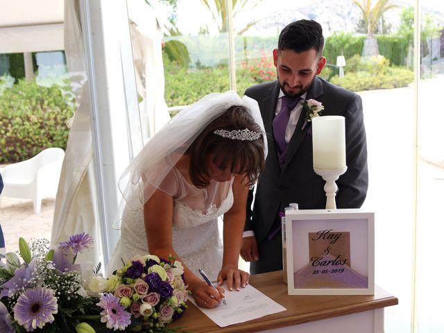 La boda de Carlos y Kay en Petrer, Alicante 9