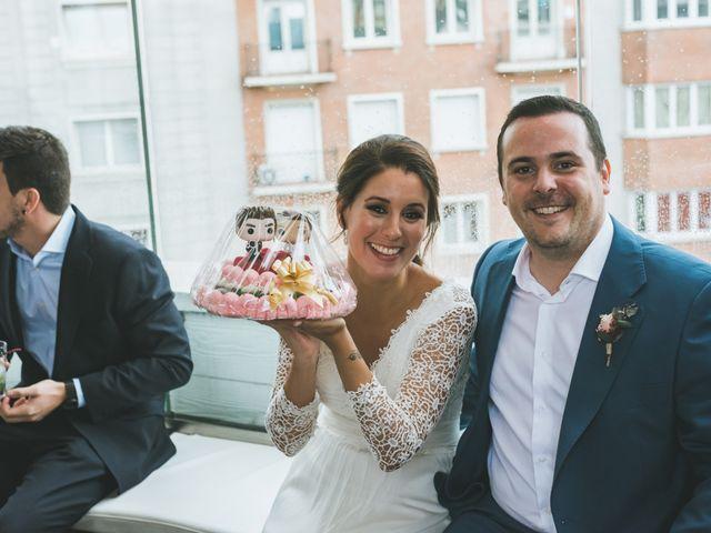La boda de Javier y Claudia en Madrid, Madrid 78