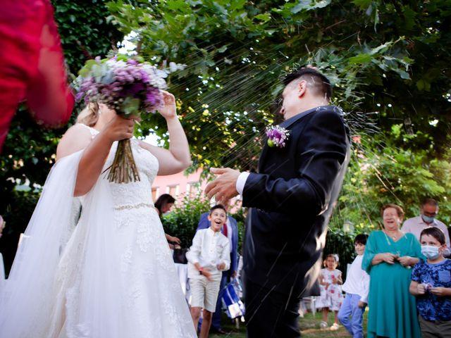 La boda de Miguel y MªJesús en Torrecaballeros, Segovia 36