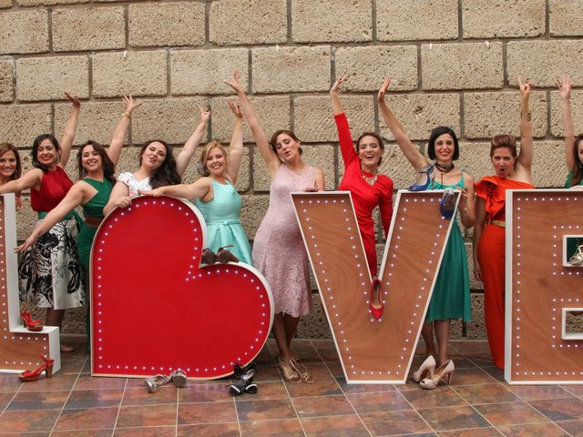 La boda de Eduardo y Gema en Guimar, Santa Cruz de Tenerife 13