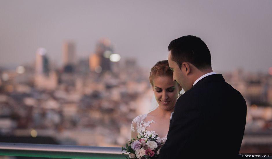 La boda de Víctor y Lorena en Fuenlabrada, Madrid