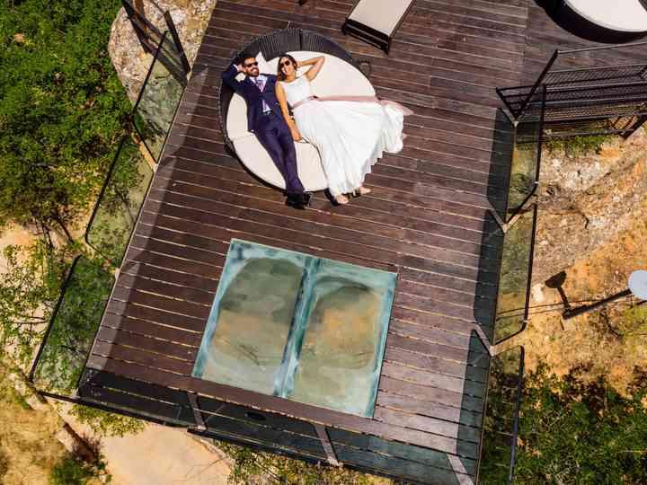 La boda de Yoli y Luis