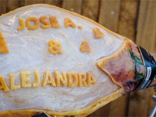 La boda de Alejandra y José antonio 2