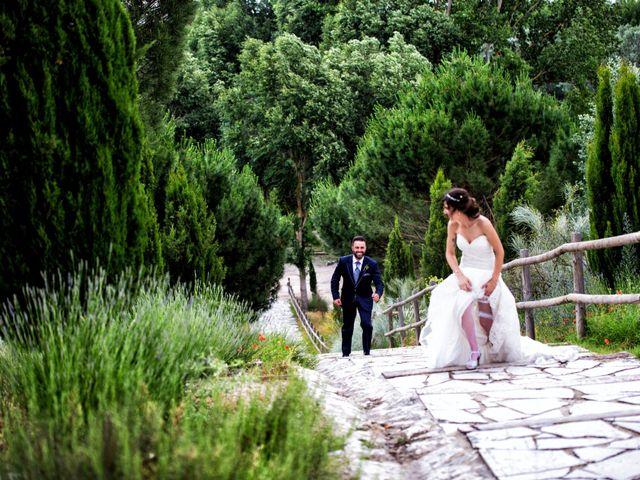 La boda de Rubén y Esmeralda en Pedrajas De San Esteban, Valladolid 26