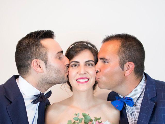 La boda de Rubén y Esmeralda en Pedrajas De San Esteban, Valladolid 47