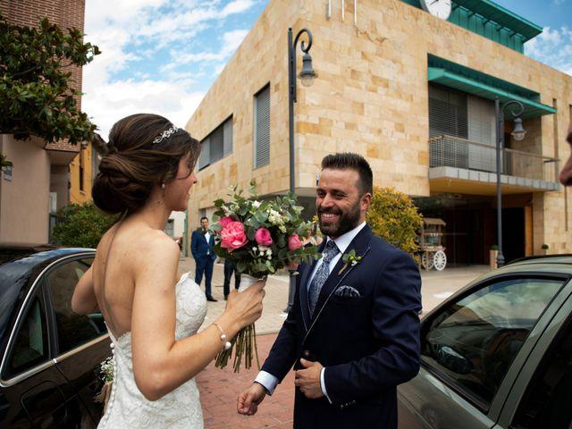La boda de Rubén y Esmeralda en Pedrajas De San Esteban, Valladolid 50