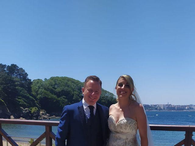 La boda de Alberto y Elisabet en Portocobo, A Coruña 17