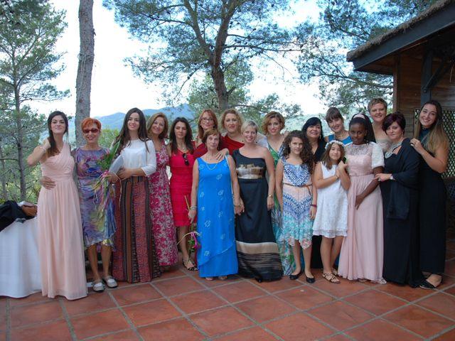La boda de Jose y Mari en La Palma De Cervello, Barcelona 1