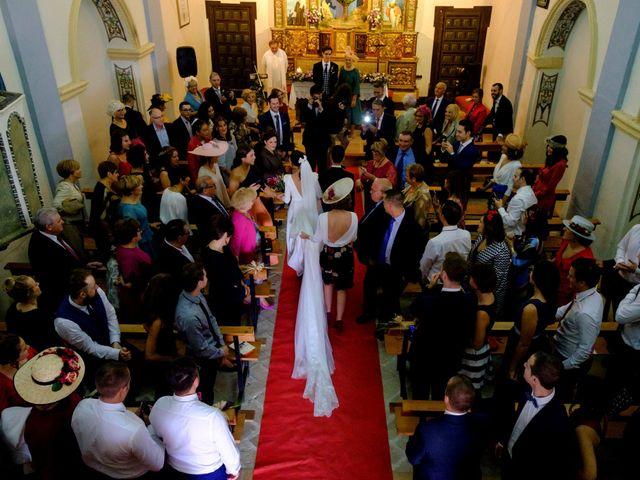 La boda de César y Pilar en Zuera, Zaragoza 21