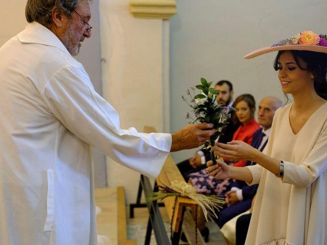 La boda de César y Pilar en Zuera, Zaragoza 29