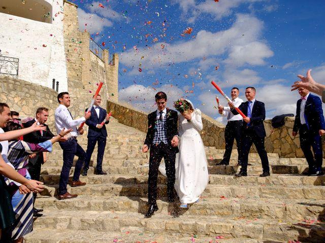 La boda de César y Pilar en Zuera, Zaragoza 37