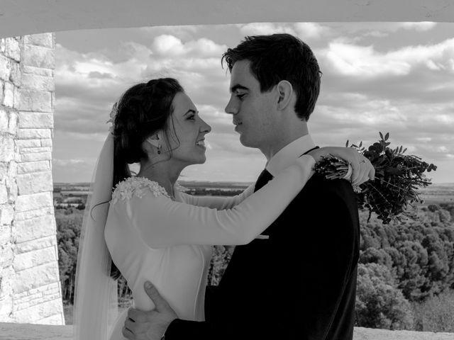 La boda de César y Pilar en Zuera, Zaragoza 38