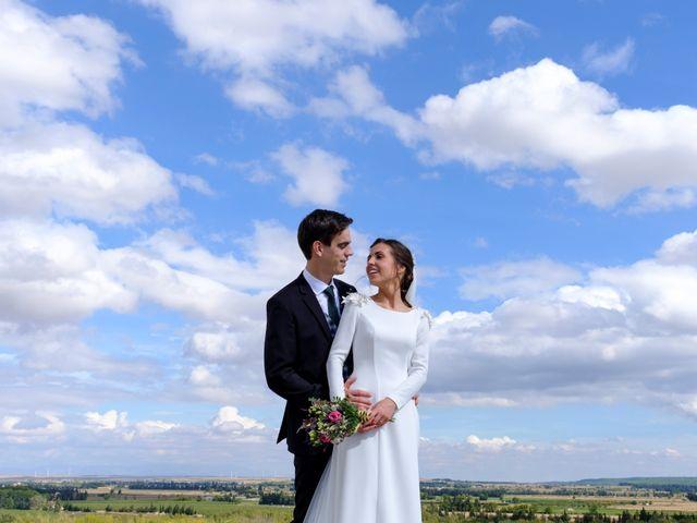 La boda de César y Pilar en Zuera, Zaragoza 45
