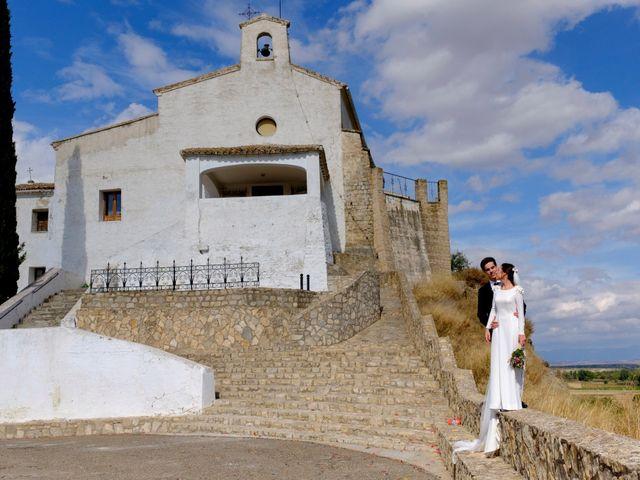 La boda de César y Pilar en Zuera, Zaragoza 46