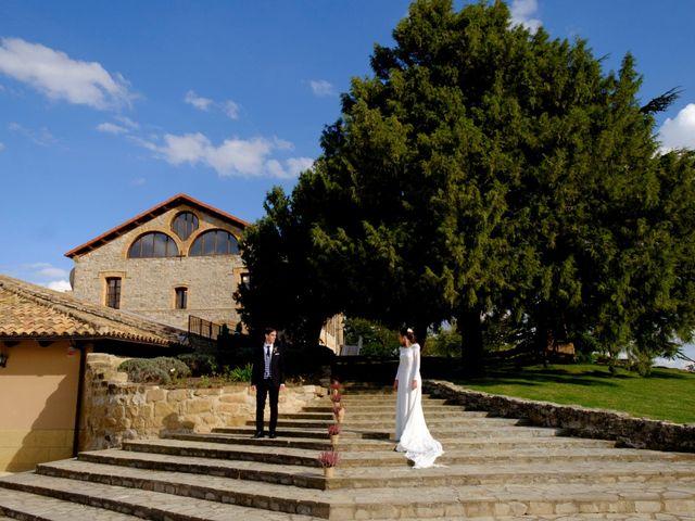 La boda de César y Pilar en Zuera, Zaragoza 48