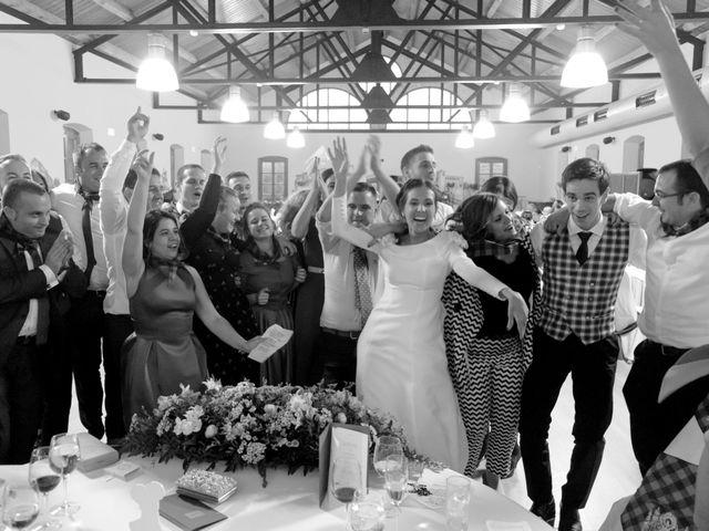 La boda de César y Pilar en Zuera, Zaragoza 55