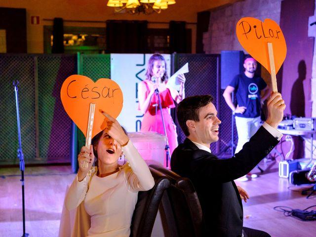 La boda de César y Pilar en Zuera, Zaragoza 61