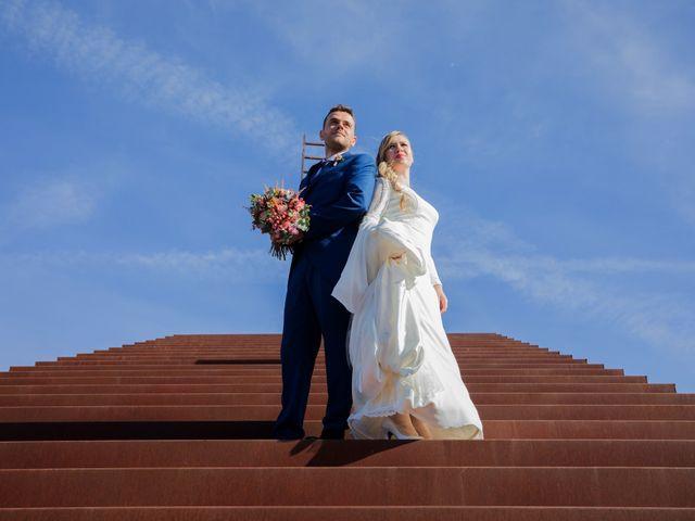 La boda de Jaime y Cristina en Ballesteros De Calatrava, Ciudad Real 1