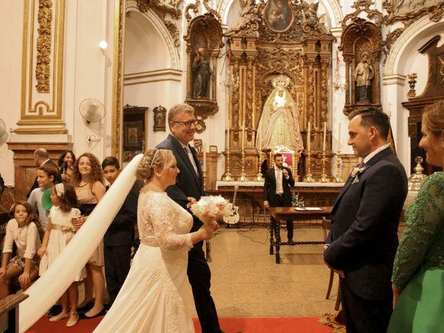 La boda de Mamen y Julio en Málaga, Málaga 33