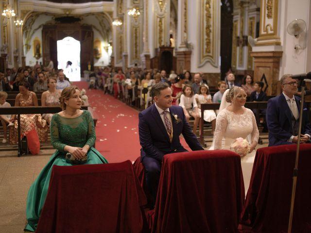 La boda de Mamen y Julio en Málaga, Málaga 34