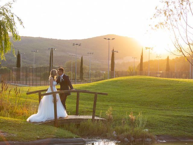 La boda de Cris y Fran en Santa Coloma De Farners, Girona 28