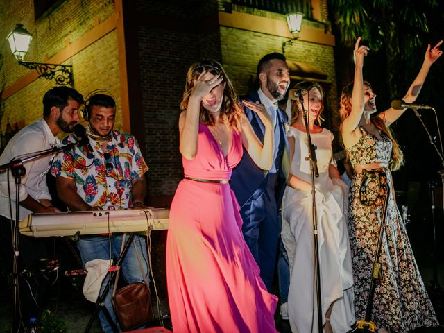 La boda de Eva y Daniel en Fresno De Torote, Madrid 107